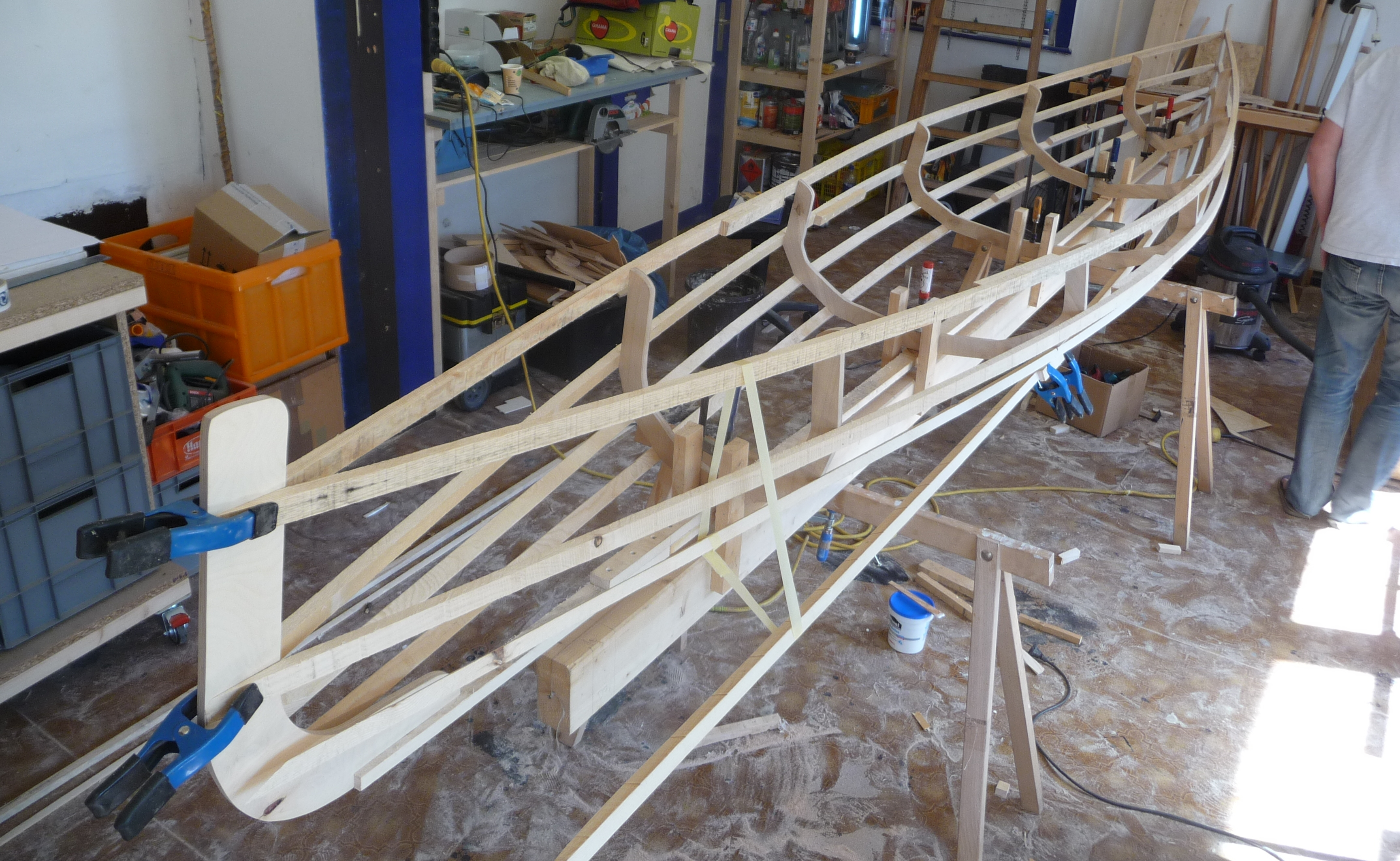 kanadier selber bauen im kanubau workshop in berlin urbanindian. Black Bedroom Furniture Sets. Home Design Ideas