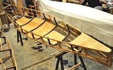 3er Kanadier Holzstruktur